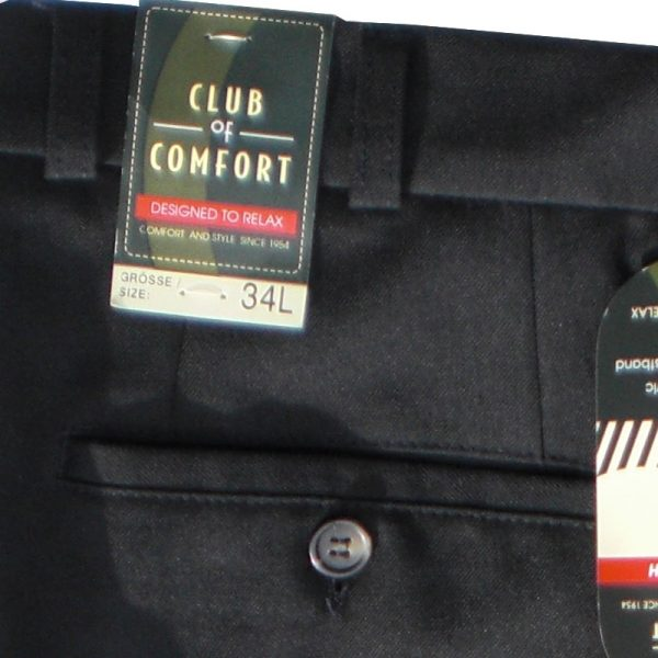 Club of Comfort Mid Weight Trousers Black