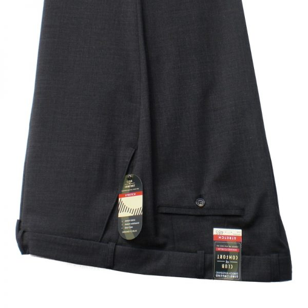 Club of Comfort Lightweight Trousers Charcoal