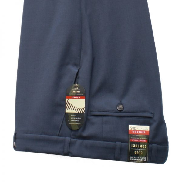 Club of Comfort Lightweight Trousers Mid Blue