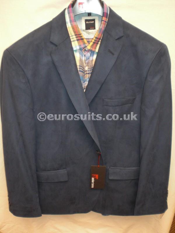 Atelier Torino French Blue Skintex Single Breasted Jacket