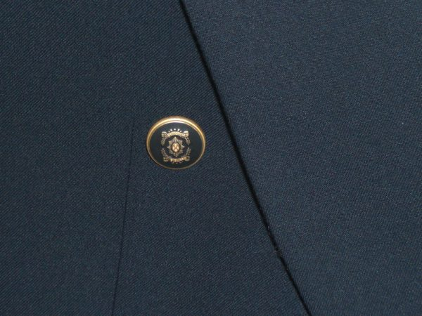 Ferkinghoff of Germany Navy Double Breasted Blazer