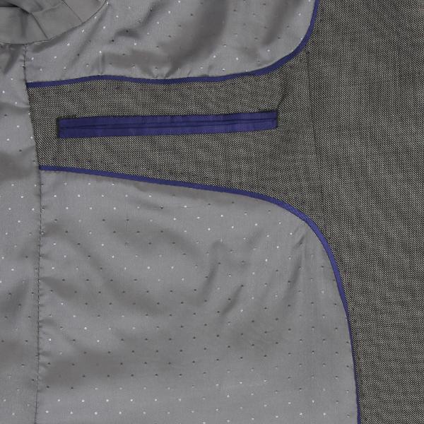 Scott Wool Mix Mid Grey Suit Jacket