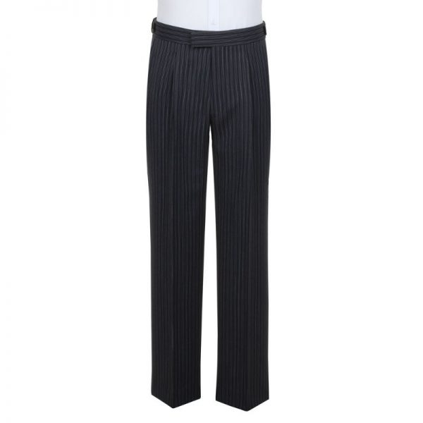 Morning Suit Grey Striped Trouser