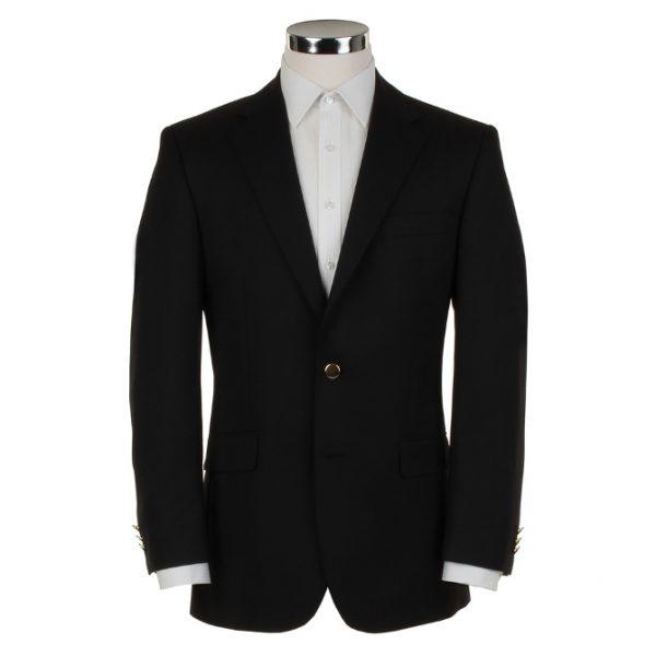 Scott Pure Wool Single Breasted Blazer Navy
