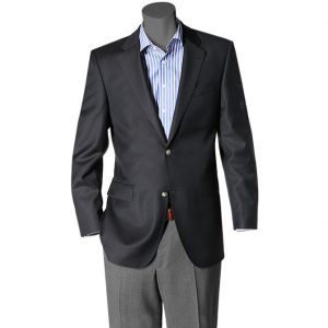Digel Super 120's Pure Wool Blazer Dark Navy
